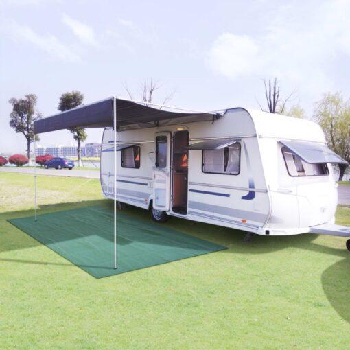 vidaXL telttæppe 250 x 600 cm grøn