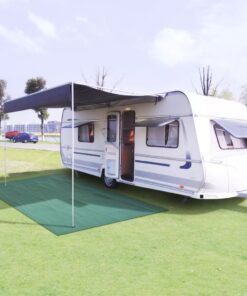 vidaXL telttæppe 300 x 400 cm grøn