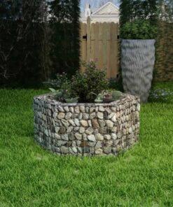 vidaXL sekskantet gabion-højbed 100x90x50 cm