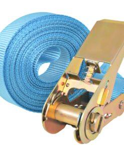 vidaXL surringsbånd 10 stk. 0,8 ton 4 m x 25 mm blå