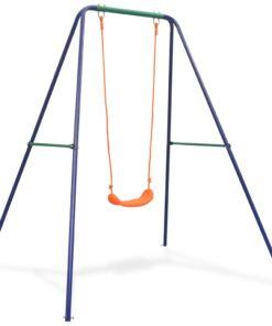 vidaXL enkeltgynge orange