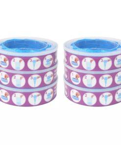 vidaXL blespand-refill til Angelcare Diaper Genie 6 stk.
