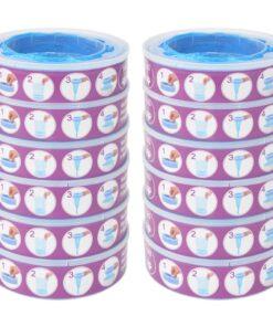 vidaXL blespand-refill til Angelcare Diaper Genie 12 stk.