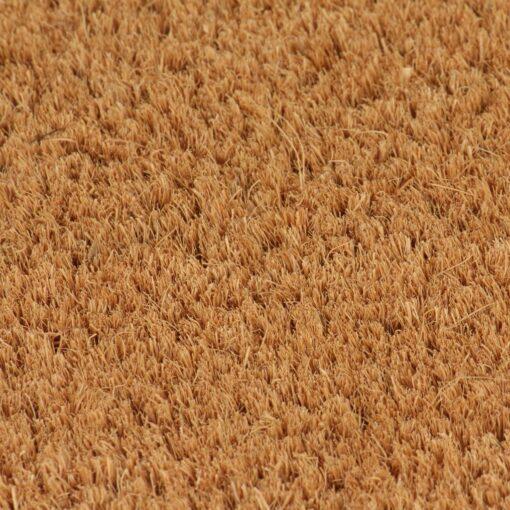 vidaXL dørmåtter 2 stk. coir 17 mm 50 x 80 cm naturfarvet