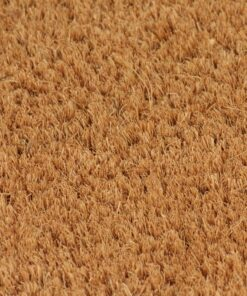 vidaXL dørmåtte coir 24 mm 100 x 300 cm naturfarvet
