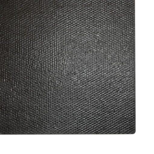vidaXL dørmåtte coir 17 mm 80 x 100 cm sort