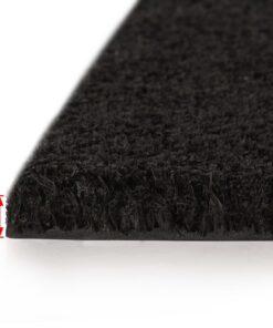 vidaXL dørmåtte coir 17 mm 100 x 300 cm sort