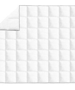vidaXL vinterdyne med dun 240 x 220 cm