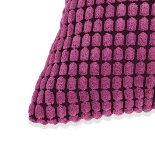 vidaXL pudesæt 2 stk. velour 40 x 60 cm lyserød