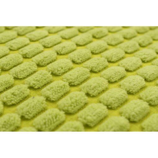 vidaXL pudesæt 2 stk. velour 60 x 60 cm grøn