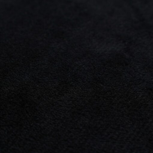 vidaXL pudesæt 2 stk. velour 60 x 60 cm sort