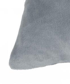 vidaXL pudesæt 2 stk. velour 60 x 60 cm grå