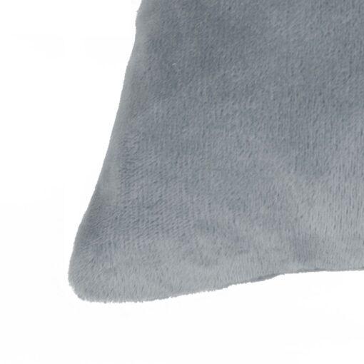 vidaXL pudebetræk 4 stk. velour 40 x 40 cm grå