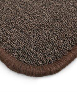 vidaXL tæppe tuftet 120 x 180 cm brun