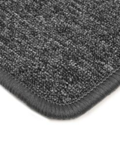 vidaXL tæppe tuftet 120 x 180 cm grå