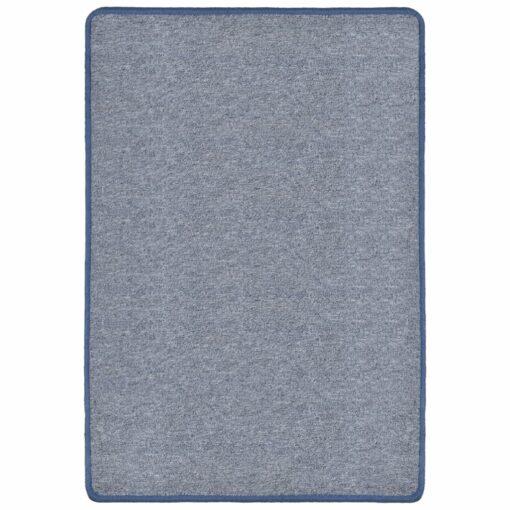 vidaXL tæppe tuftet 160 x 230 blå