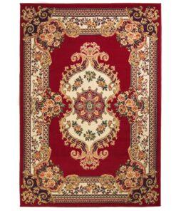 vidaXL orientalsk tæppe persisk design 80 x 150 cm rød/beige