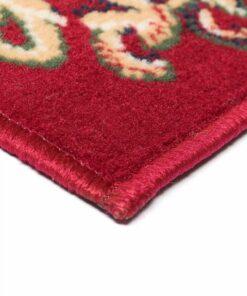vidaXL orientalsk tæppe persisk design 120 x 170 cm rød/beige