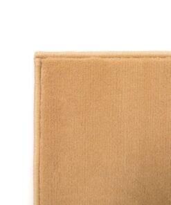 vidaXL moderne tæppe cirkeldesign 80 x 150 cm brun