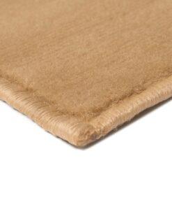 vidaXL moderne tæppe cirkeldesign 160 x 230 cm brun