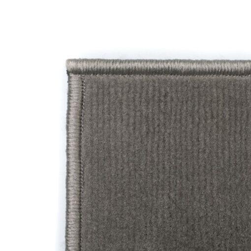 vidaXL moderne tæppe cirkeldesign 80 x 150 cm grå