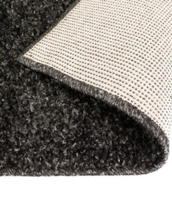 vidaXL shaggy tæppe 160 x 230 cm antracitgrå