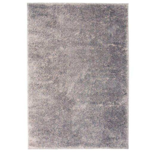 vidaXL shaggy tæppe 160 x 230 cm grå