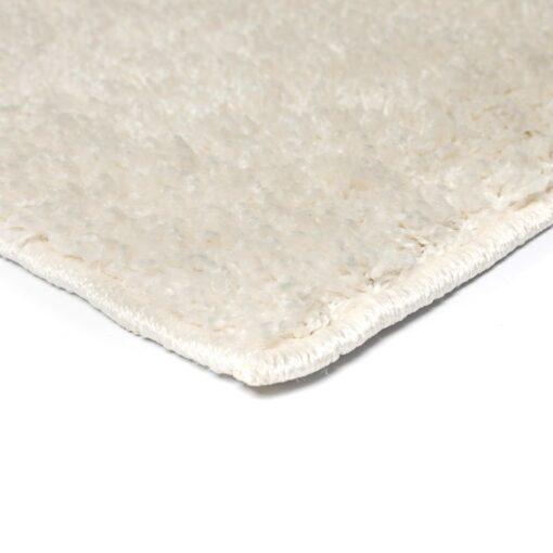 vidaXL shaggy tæppe 160 x 230 cm cremefarvet