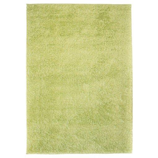 vidaXL shaggy tæppe 140 x 200 cm grøn