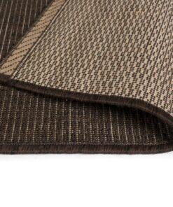 vidaXL tæppe sisallook indendørs/udendørs 120 x 170 cm brun