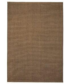 vidaXL tæppe sisallook indendørs/udendørs 160 x 230 cm brun