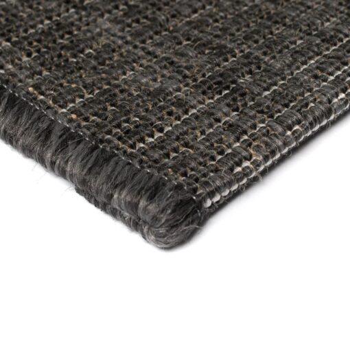vidaXL tæppe sisallook indendørs/udendørs 80 x 150 cm mørkegrå