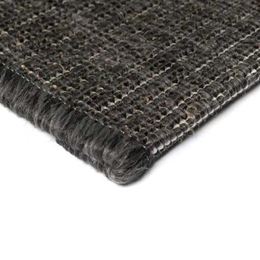 vidaXL tæppe sisallook indendørs/udendørs 160 x 230 cm mørkegrå
