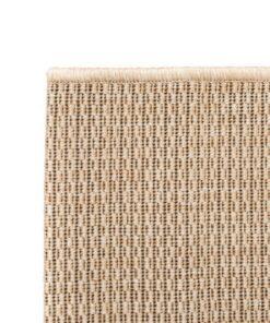 vidaXL tæppe sisallook indendørs/udendørs 120 x 170 cm beige