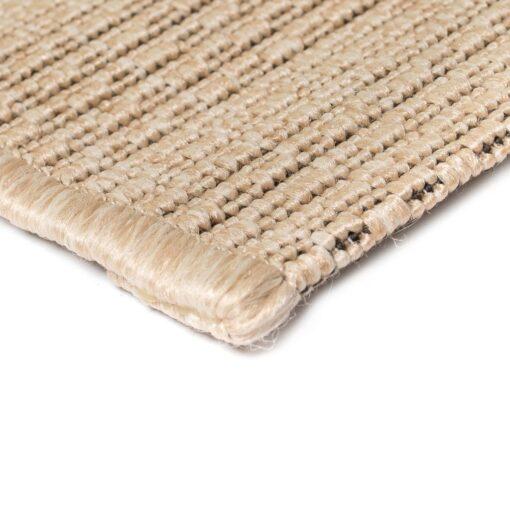 vidaXL tæppe sisallook indendørs/udendørs 140 x 200 cm beige