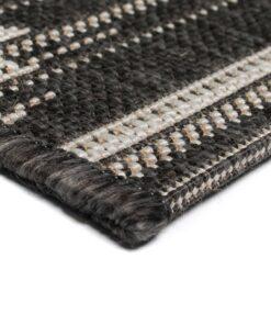 vidaXL tæppe sisallook indendørs/udendørs 180 x 280 cm geometrisk