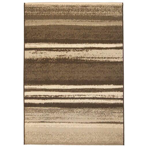 vidaXL tæppe sisallook indendørs/udendørs 80 x 150 cm striper