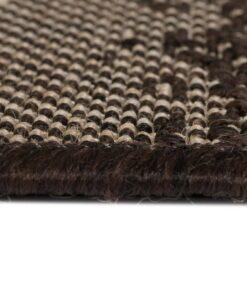 vidaXL tæppe sisallook indendørs/udendørs 120 x 170 cm striber