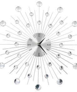 vidaXL vægur med kvarts-urværk moderne design 50 cm