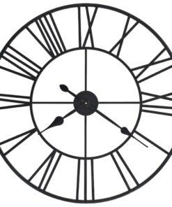 vidaXL vægur i vintagestil kvarts-urværk metal 80 cm XXL
