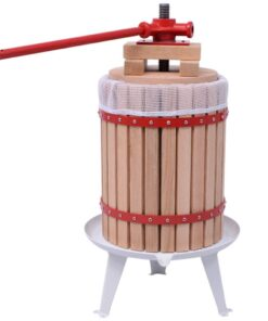 vidaXL frugt- og vinpresser 18 l