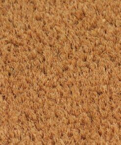 vidaXL dørmåtte coir 24 mm 150 x 200 cm naturfarvet
