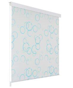vidaXL rullegardin til brusekabine 140 x 240 cm boble-print