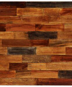 vidaXL barbord massivt genanvendt træ 70 x 70 x 106 cm