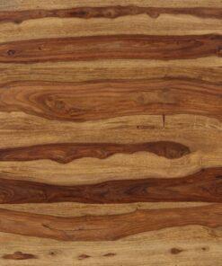 vidaXL spisebord i massivt sheeshamtræ 82 x 80 x 76 cm