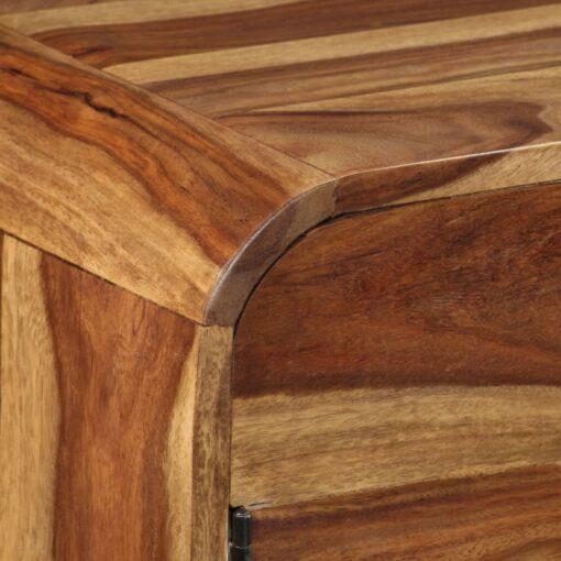 vidaXL skænk i massivt sheeshamtræ 145 x 40 x 75 cm