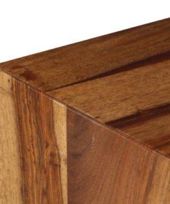 vidaXL sengebord i massivt sheeshamtræ 40 x 30 x 35 cm