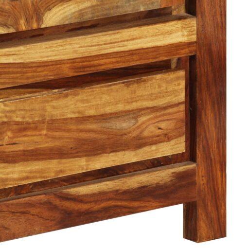 vidaXL klædeskab i massivt sheeshamtræ 110 x 55 x 190 cm
