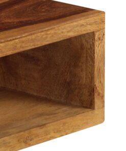 vidaXL sofabord 110 x 50 x 35 cm massivt sheeshamtræ