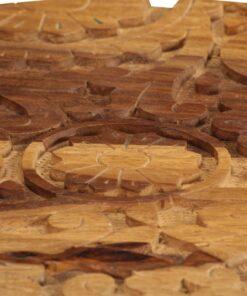 vidaXL sofaborde 2 stk. massivt sheeshamtræ